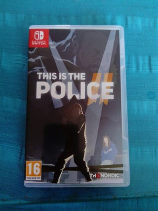 Juego Nintendo SWITCH THIS IS THE POLICE, NUEVO
