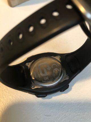 Reloj crono kalenji negro