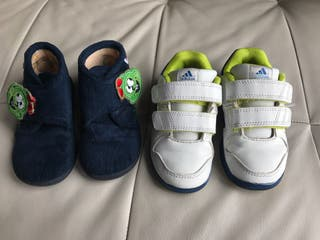 Lote zapatillas número 24.