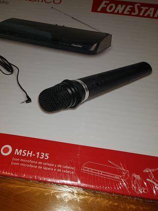 Micrófono inalámbrico FONESTAR