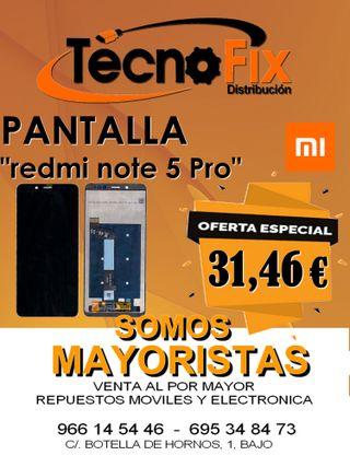 Pantalla Redmi note 5 PRO