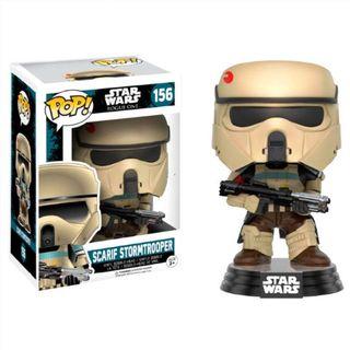 Figura POP Star Wars Rogue One Scarif Stormtrooper