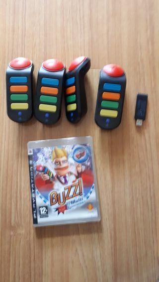 mandos buzz mas juego ps3