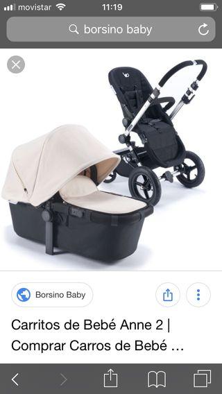 Carrito de bebé ( cuco + silla)