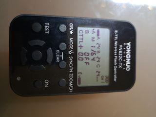 ttansmisor y receptor de flash yn622c para canon