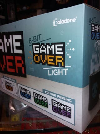 Lampara LED Game Over