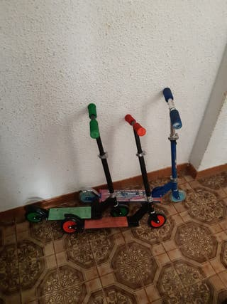 3 patinetes para niños