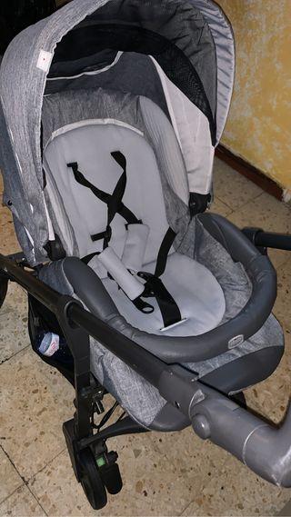 Carro de bebé chicco trio love