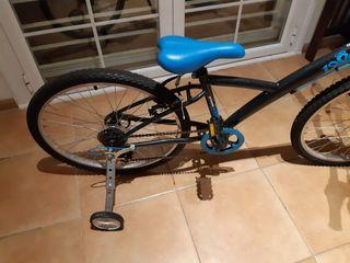 Ruedines bici 20 o 24 pulgadas