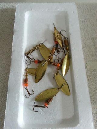 Cucharillas pesca