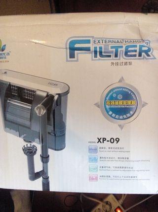 filtro esterior pecera