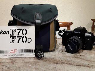 Nikon F70.
