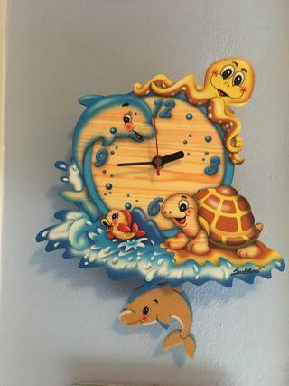 Reloj de pared infantil Bartolucci