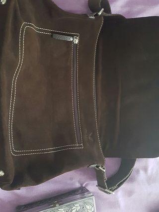 Bolso cateta de piel Viceroy marrón