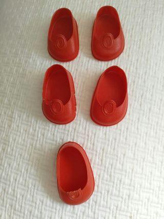 Nancy. Zapatos rojos