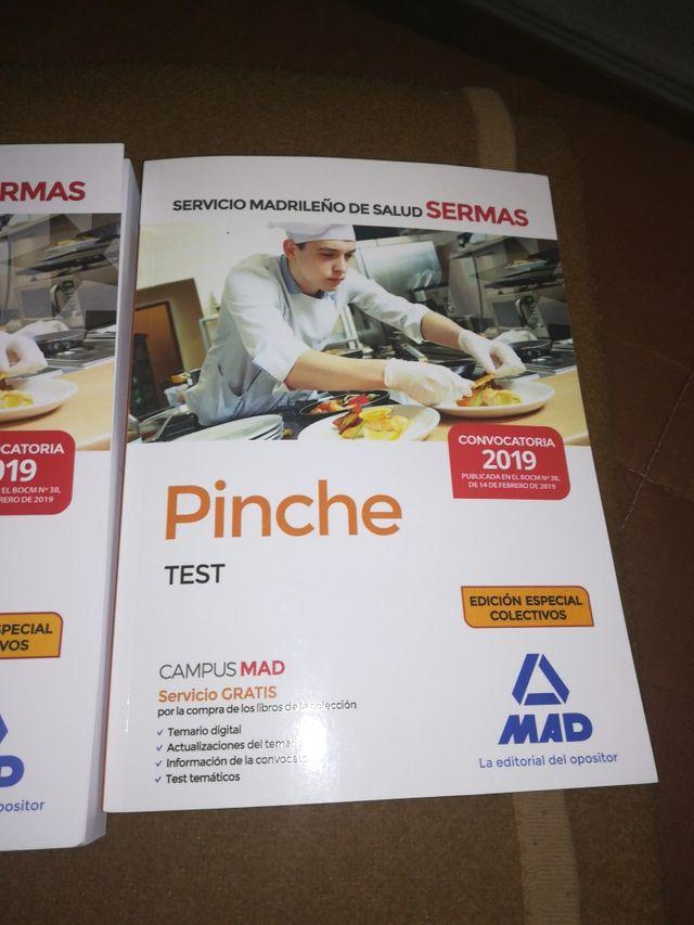Libros pinché de cocina