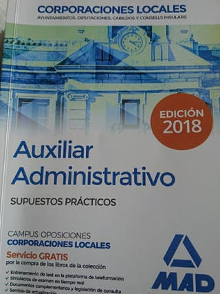 casos practicoS auxiliar administrativo locales