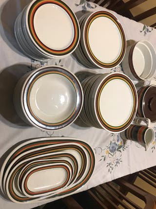 Vajilla completa de porcelanas Bidasoa