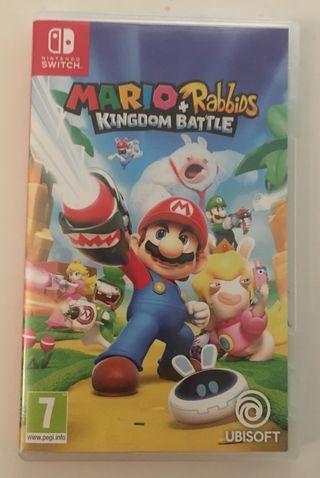 MARIO+RABBIDS KINGDOM BATTLE - Nintendo Switch