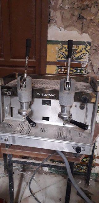 cafetera vintage 2 grupos futurmat
