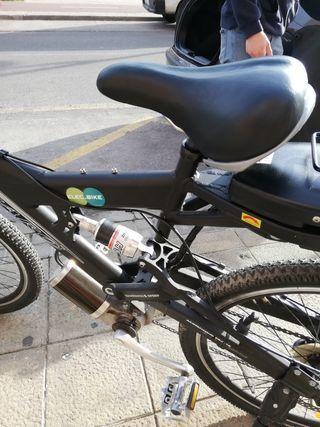 bicicleta eléctrica con doble suspension
