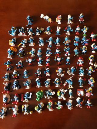 80 Pitufos colección