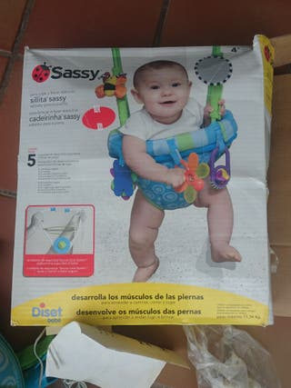 saltador bebé Sassy