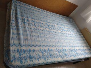 Colchón y somier 1,90cm x 1,35cm