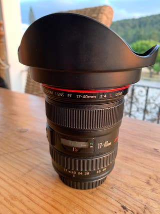 Canon EF 17-40 f4 L