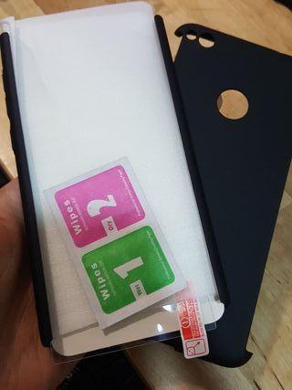 Funda Huawei P 8 Lite + protector