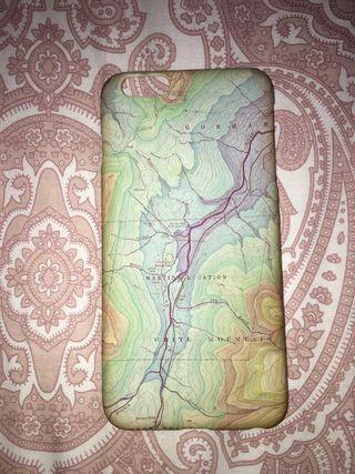 Funda iPhone 6s Plus mapa
