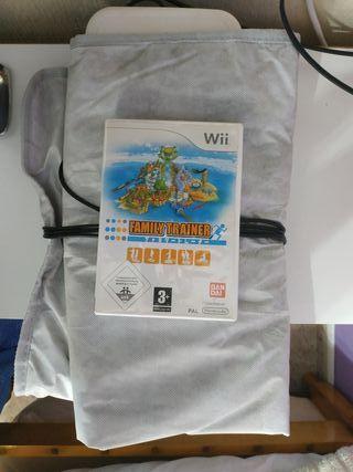 Juego Family Trainer + Alfombra para Wii