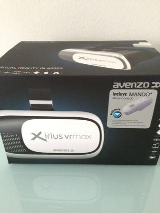 Gafas realidad virtual con mando. Nuevas