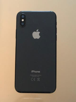 iPhone X gris 264 gb