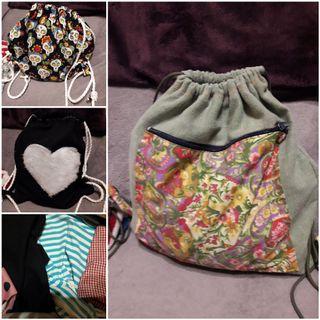mochilas de cuerdas