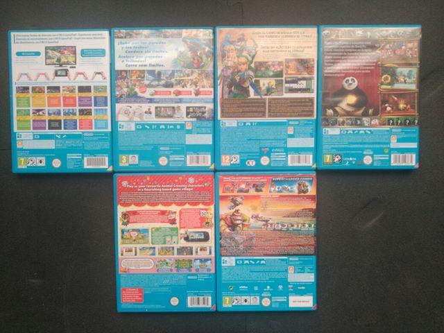 Pack juegos Wii U
