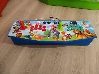 mando arcade 2 jugadores