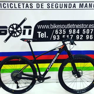 Bicicleta Orbea alma carbon xtr 29 nueva