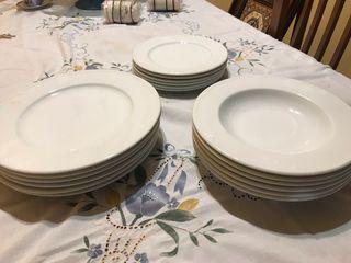Vajilla de Porcelanas Bidasoa