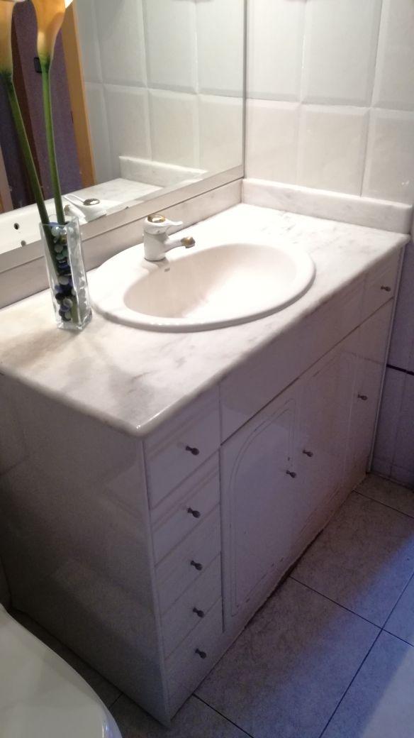 Mueble de Baño mármol