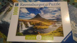 Puzzle 1000 piezas Cascadas de Kirkjufell