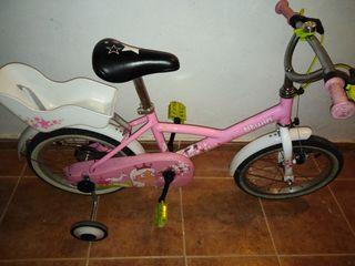 Bici infantil BTWIN 16 pulgadas
