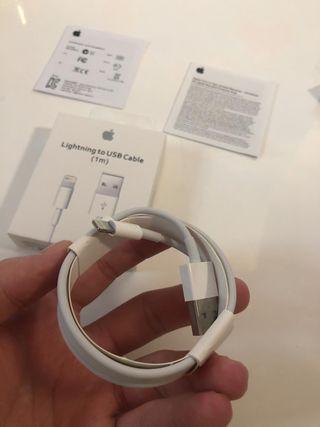 Cargador cable iPhone original apple