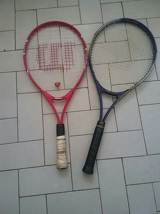 vendo dos raquetas de tenis