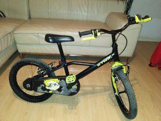 "bicicleta infantil 20"" edad 4 a 7"