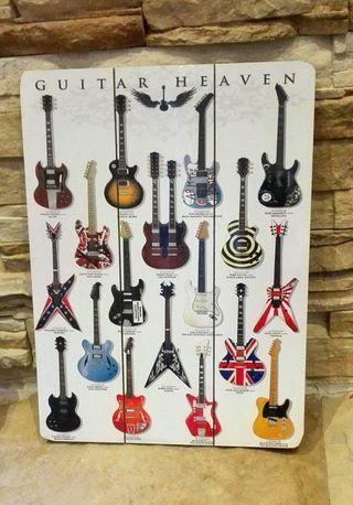 Cuadro Guitar Heaven.