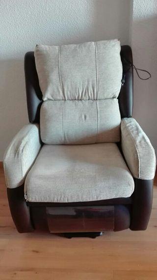 sillón ortopédico con motor