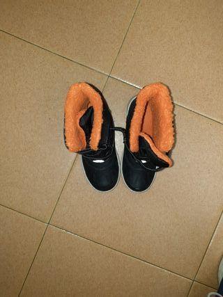 botas de invierno forradas