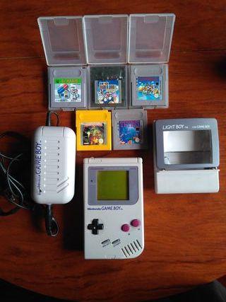 Lote Game Boy Clasica+ 5 juegos