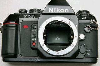 Nikon F501 Camara analógica, impoluta y hermosa!!!